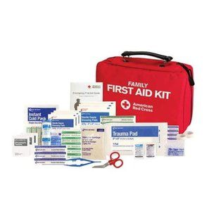 American Red Cross Family First Aid Kit, 120 Count